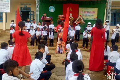 Trường TH Lê Lợi tổ chức Lễ khai giảng năm học mới 2020-2021.